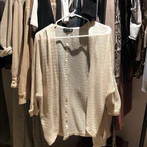 Cotton On XS cream cardigan